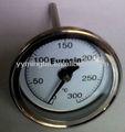 """Ss thermometer bimetall temperaturanzeige 3"""""""
