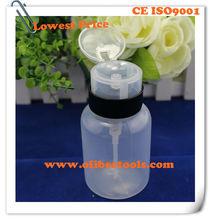 Anti-Static plastic pump alcohol bottle--250ml