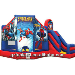 Inflatable Bouncer Combo - Jumping Bouncy Castle with Slide.