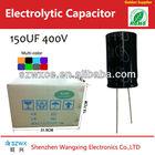 best seller 150uf 400v capacitors aluminum electrolytic capacitors