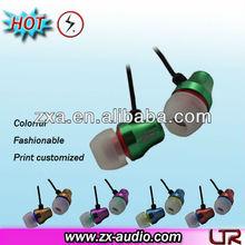 popular design inear earphones metal earphone