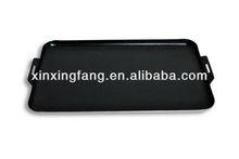 non-stick aluminum flat grill pan /baking griddle /portable gas griddle