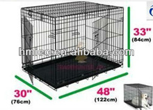 metal dog cages