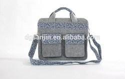 High quality wool felt fashion handbag for ladies