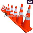 Fluorescent Orange PVC Road Traffic Cone