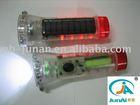 JA-183 solar powered led flashlight