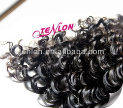 tangle&shedding free vrigin human hair extension