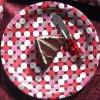 YLPP1106_13 merry christmas paper plate,polka dot paper plates