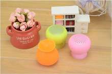 Ball shape Bluetooth sucker speaker