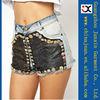 fashion denim shorts new designer women denim shorts sexy denim shorts JXS22004