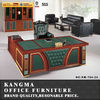 Made in china T shaped office table price/executive desk/executive office desk KM-T04
