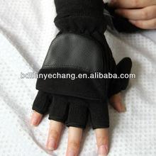 Combined Polar Fleece Convertible Fingerless Gloves