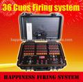 Canales 36 caso a prueba de agua de fuegos artificiales sistema de disparo, manual de& mando a distancia sistema de disparo, la felicidad fuegos artificiales sistema de disparo