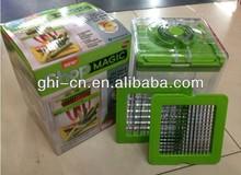 2015 newest As Seen on Tv Plastic Green Chop Magic Food Chopper