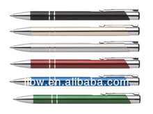 High quality promotion ballpoint pen/metal pen with box(available)/business promotional ball pen
