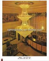 large crystal chandelier light for hotel big hall