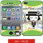 factory supply cheap print Cartoon Screen Protector iphone 4