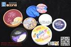2014 cargo conduction ice cream yogurt coffee cup plastic lids for the food