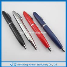 2014 New Colorful Fat Size Short Metal Twist Mini ball Pen