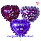"Aluminum Foil ""love"" heart Balloons"