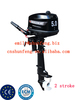 Best price & high quality 2 stroke 5 hp outboard marine engine/boat engine with CE approval