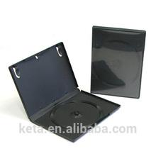 14mm Standard Single Black DVD Case
