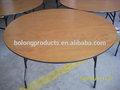 8ft table ronde pliante