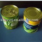fresh canned green peas