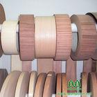 Wonjasion factory direct sale 0.5mm veneer edge banding,black walnut edge banding veneer backed with glue for the furniture