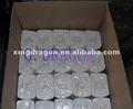 de alta calidad bajo precio en relieve sin núcleo rollo de papel higiénico
