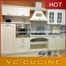 America,Canada project pvc kitchen cabinets