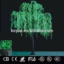 2014 NEW led tree light 5.0m willow tree FZLS-5184