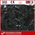 China nero marquina artificial de piedra de mármol negro de la serie panel de la pared/azulejos de suelo/tops