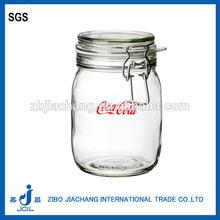 metal clip glass jars