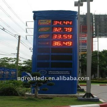 12 Inch led petrol price station display