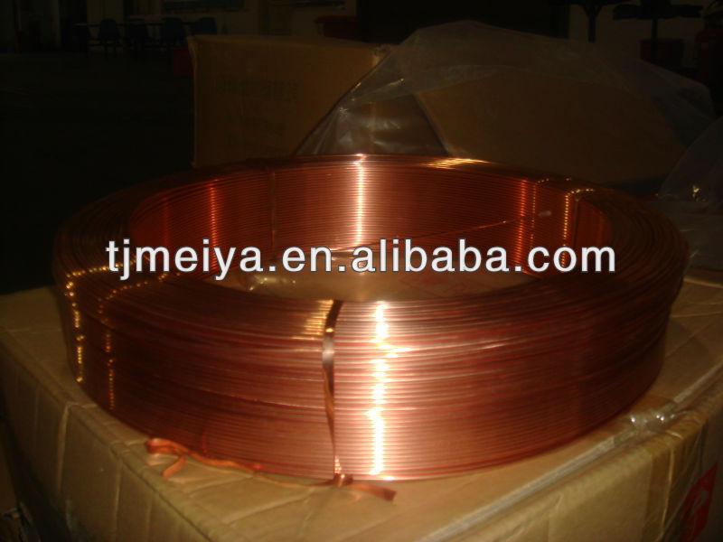 de tubo capilar de de cobre
