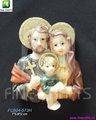 Religiosa lembrança resina geladeira ímãs sagrada família