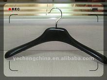 Unique non slip light rubber painted coat hangers/skirt hanger/jacket hanger