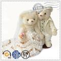 Coppia abito da sposa orso di peluche, matrimonio orso giocattolo farcito, bomboniera orso