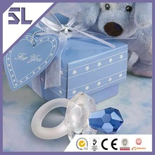 Funny Pacifier Crystal Baby Shower Favors