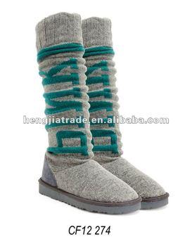 Ladies fashion winter snow boot