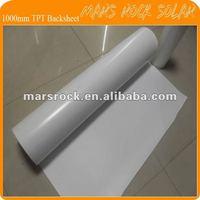 0.3mm thickness 1000mm width Tedlar TPT Solar Module Backsheet