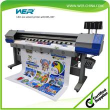 1.8 meters indoor and outdoor printing machine vinyl sticker printer with dx5
