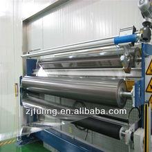 Transparent PET Film :applied to aluminum foils, hologram hot stamping,etc