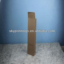 small brown lipstick paper bag