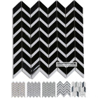 Allure Kelp Wave Line White Glass Mix Marble New Model Flooring Tiles 300*300mm