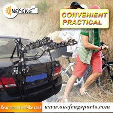 rear mounted 4 bicycles carrier,trunk bike carrier,rear bike carrier