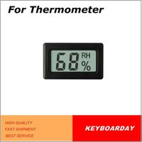 Hygrometer for cigar box,wet-dry cabinet,anti-wet cabinet,wine cooler with LCD display
