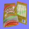 printed zipper top zipper food package bag/plastic food packaging bags
