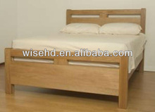 W-B-0080 solid wood double bed